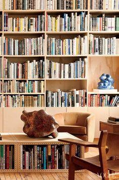 Inside Lee Lee Sobieski's home. Photographed by Jason Schmidt, Vogue, October 2012.