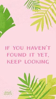 Keep Looking <3