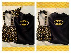 Awesome Batman short set by designsbylorag on Etsy