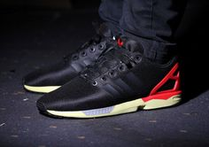 Adidas Originals ZX Flux (Core Black/Red) post image