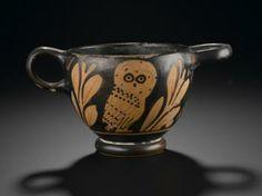 Attica, Ancient Greece Glaux 5th century BC