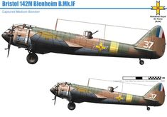 Military Jets, Military Weapons, Luftwaffe, Bristol Blenheim, Fighting Plane, Central And Eastern Europe, Ww2 Planes, Ww2 Aircraft, Aircraft Design