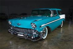 Vintage Cars, Antique Cars, Chevy Nomad, American Auto, Gmc Trucks, Station Wagon, Lowrider, Car Photos, Bel Air