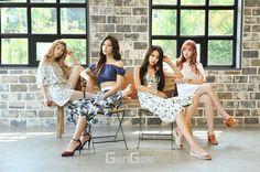Nine Muses GanGee July 2017