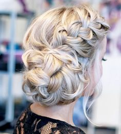 29,929 repins.   We're not quite sure where the braid ends and bun begins—maybe that's why this pretty style has garnered such crazy popularity on Pinterest!