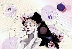 Portfolio of Cocopit, fashion illustration