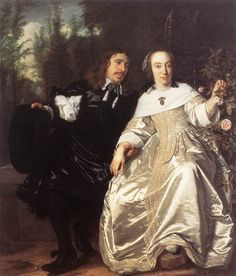 Bartholomeus van der Helst (1613 – 1670)  Abraham del Court and Maria de Keersegieter