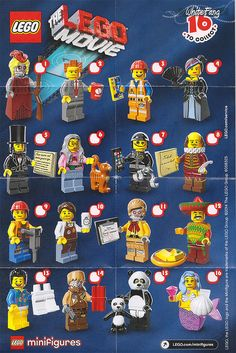 The Lego Movie minifigure series... (Not Series 12)