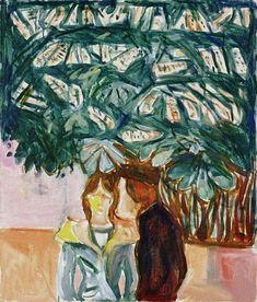 terminus ante quem — Edvard Munch (Norwegian, 1863-1944), Encounter...