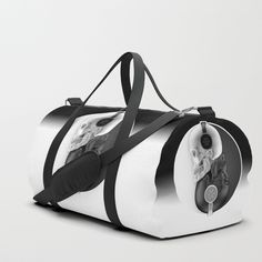 Buy Headphone Harmony Duffle Bag by grandeduc. Worldwide shipping available at Society6.com. Just one of millions of high quality products available.