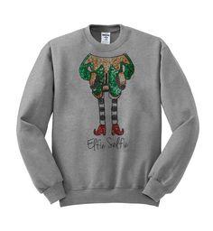 Elfie selfie #sweatshirt #sweat #shirt #clothing #cloth #crewneck #sweater #sweaters