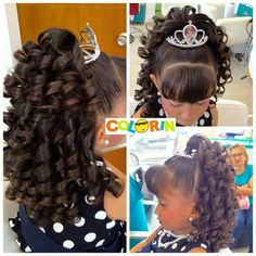 Hair updos for kids pony tails Ideas Classic Hairstyles, Work Hairstyles, Flower Girl Hairstyles, Little Girl Hairstyles, Pretty Hairstyles, Braided Hairstyles, Wedding Hairstyles, Amber Hair, Hairstyle Ideas