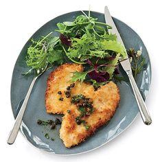 Panko-Coated Chicken Schnitzel // More Fabulous Chicken Recipes: http://www.foodandwine.com/slideshows/chicken #foodandwine
