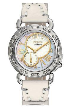 Fendi 'Selleria' Customizable Watch