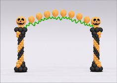 halloween balloon decoration - Cerca con Google