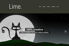 Lime - Creative Portfolio Theme by 7Theme on Creative Market