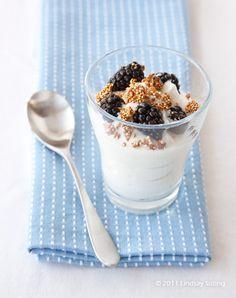 Jillian Michaels MYM Greek Yogurt Cup with Quinoa Crunch & Berries