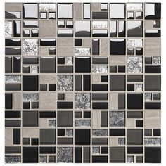 Phase Mosaics Stone And Glass Wall Tile Block Random At Menards