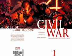 Civil War # 1 by Steve McNiven