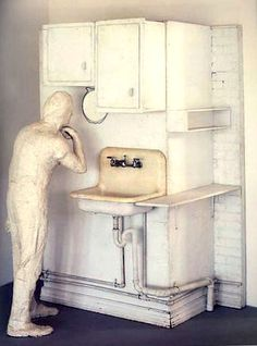 George Segal  The Artist in his Loft  1969