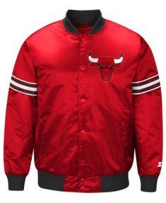 2dad848e181 G-III Sports Men s Chicago Bulls Draft Pick Starter Satin Jacket   Reviews  - Sports Fan Shop By Lids - Men - Macy s