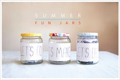 summer fun jars