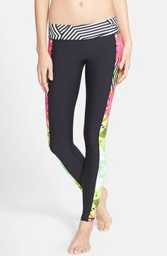 Trina Turk Recreation 'Tropicana' Leggings available at #Nordstrom
