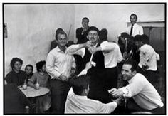 """Mykonos. 1967. Dancing in a cafe.  """"A Greek Portfolio""""  © Costa Manos/Magnum Photos Constantine Manos"""