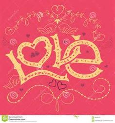 hand scripted letter valentine cards  Yahoo Image Search Results