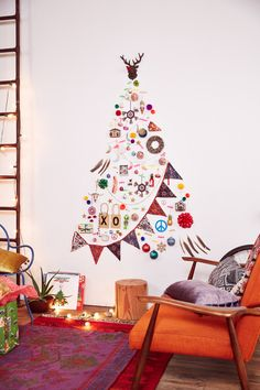 Love the hanging && the decal sticker tree ideas for some reason No more mess to clean up.