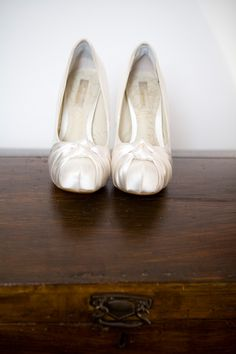Bridal shoes from Next. Photography by photographybykatie.co.uk