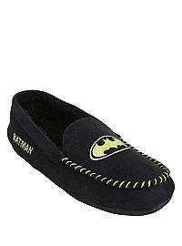 HOTTOPIC.COM - DC Comics Batman Guys Moccasin Slippers and other Dc stuffs