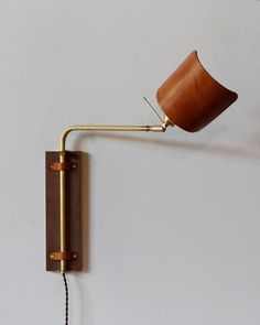 LEATHER LIGHT by LOSTINE favorited by LIGHTBOX AMSTERDAM #lighting