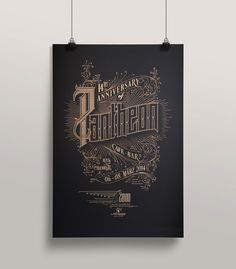 Pantheon Anniversary Poster by Schoener