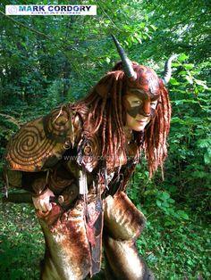 LARP - LRP Satyr - Faun costume made by Mark Cordory Creations www.markcordory.com