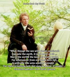 Alan Rickman as Colonel Brandon in Sense and Sensibility gets me every time