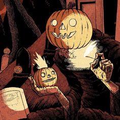 Metal of Horror {: Spooky Scary, Spooky Halloween, Halloween Themes, Vintage Halloween, Happy Halloween, Halloween Artwork, Halloween Painting, Halloween Wallpaper, Arte Horror