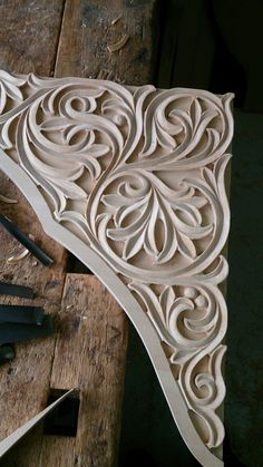 Byzantine wood carving made by Mixalis Bechlivanis