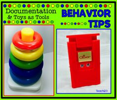Behavior Tips: Toys, Integrate, and Documentation: Tools and ideas that will motivate your students. Use toys as tools and fun ideas! Plus, free positive behavior incentive.