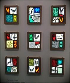 Modern Stained Glass, Stained Glass Paint, Stained Glass Designs, Stained Glass Panels, Stained Glass Projects, Fused Glass Art, Stained Glass Patterns, Modern Glass, Leaded Glass