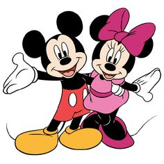 mickey and minnie mouse-9.png 600×600 pixels
