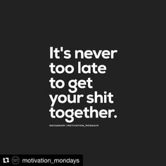 #Repost @motivation_mondays with @repostapp  No matter your age or your story you can always turn your life around.