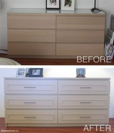 Ikea Malm Before and After | http://thiswayhome.co