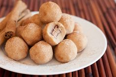 Rolo Stuffed Snickerdoodle Cookie Dough Bites - Cooking Classy