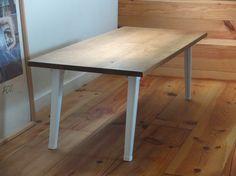 オーク材 折畳み ローテーブル