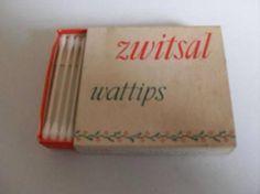 Zwitsal Wattips - wattenstokjes - schuifdoosje van karton