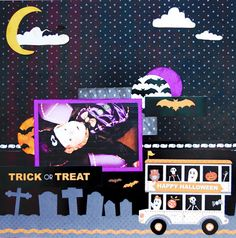 Jeri Vann: My Creative Mind: Spooky Delight Layout