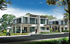 semi detached house singapore - Penelusuran Google Semi Detached, Detached House, Town House, Singapore, Mansions, House Styles, Google, Home Decor, Decoration Home