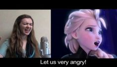 """""""Let It Go"""" - Google Translate Version-YouTuber Malinda Kathleen Reese took the lyrics to """"Let It Go"""" from Disney's massive hit """"Frozen,"""" put them through several layers of Google translate, then back into English. Then… SHE SINGS IT."""