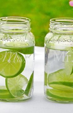 Mr. & Mrs. Mason Jars (set of 2) | Nordstrom